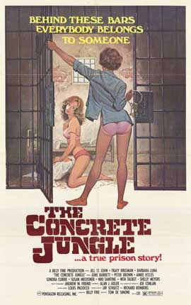 The Concrete Jungle - 11 x 17 Movie Poster - Style A