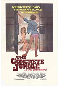 The Concrete Jungle - 43 x 62 Movie Poster - Bus Shelter Style A