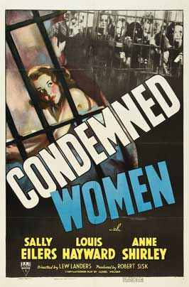 Condemned Women - 27 x 40 Movie Poster - Style A
