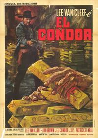 El Condor - 39 x 55 Movie Poster - Italian Style A