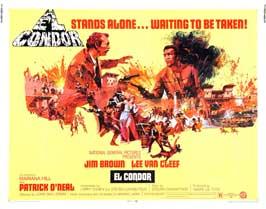 El Condor - 22 x 28 Movie Poster - Half Sheet Style A