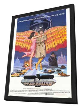 Condorman - 27 x 40 Movie Poster - Style A - in Deluxe Wood Frame