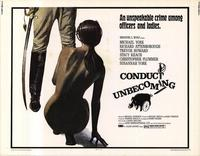 Conduct Unbecoming - 22 x 28 Movie Poster - Half Sheet Style A
