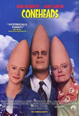Coneheads - 11 x 17 Movie Poster - Style B