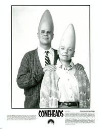 Coneheads - 8 x 10 B&W Photo #1