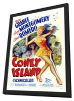 Coney Island - 11 x 17 Movie Poster - Style A - in Deluxe Wood Frame