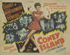 Coney Island - 22 x 28 Movie Poster - Half Sheet Style A