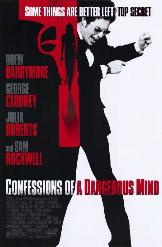 Confessions of a Dangerous Mind Movie Posters From Movie ...