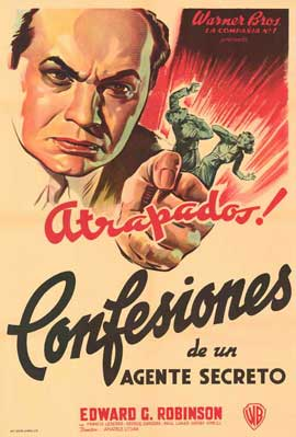Confessions of a Nazi Spy - 11 x 17 Movie Poster - Spanish Style A