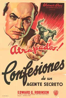 Confessions of a Nazi Spy - 27 x 40 Movie Poster - Spanish Style A