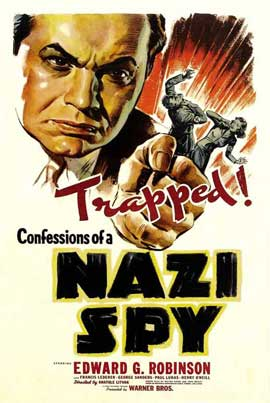 Confessions of a Nazi Spy - 11 x 17 Movie Poster - Style A