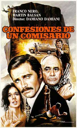 Confessions of a Police Captain - 11 x 17 Movie Poster - Spanish Style A
