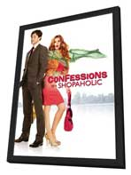 Confessions of a Shopaholic - 27 x 40 Movie Poster - Style B - in Deluxe Wood Frame