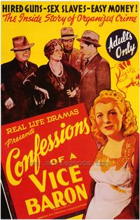 Confessions of a Vice Baron - 43 x 62 Movie Poster - Bus Shelter Style A