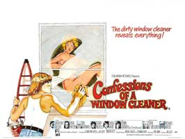 Confessions of a Window Cleaner - 30 x 40 Movie Poster UK - Style A