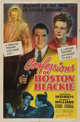 Confessions of Boston Blackie - 27 x 40 Movie Poster - Style A