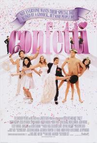 Confetti - 11 x 17 Movie Poster - Style A