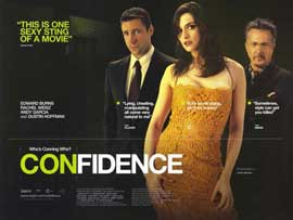 Confidence - 11 x 17 Movie Poster - Style F