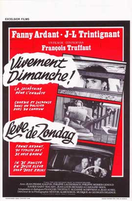Confidentially Yours - 11 x 17 Movie Poster - Belgian Style A