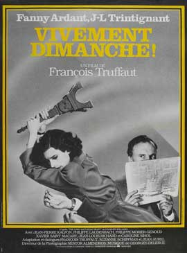 Confidentially Yours - 11 x 17 Movie Poster - French Style A