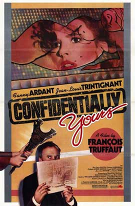 Confidentially Yours (Vivement dimanche!) - 11 x 17 Movie Poster - Style A