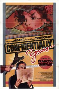 Confidentially Yours (Vivement dimanche!) - 27 x 40 Movie Poster - Style A