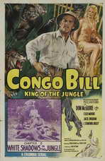 Congo Bill - 27 x 40 Movie Poster - Style A