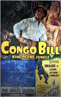 Congo Bill - 43 x 62 Movie Poster - Bus Shelter Style A