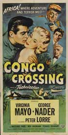 Congo Crossing - 11 x 17 Movie Poster - Style C