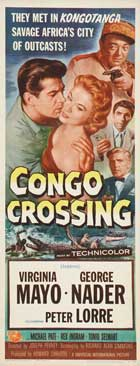 Congo Crossing - 14 x 36 Movie Poster - Insert Style A