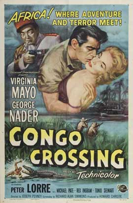 Congo Crossing - 11 x 17 Movie Poster - Style A