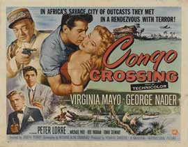 Congo Crossing - 22 x 28 Movie Poster - Half Sheet Style A