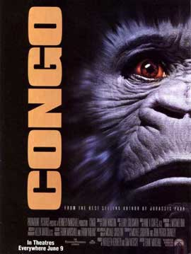 Congo - 27 x 40 Movie Poster - Style B