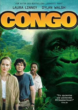 Congo - 27 x 40 Movie Poster - German Style A