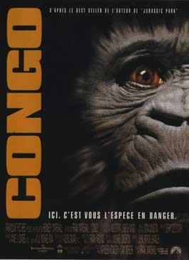 Congo - 11 x 17 Movie Poster - French Style A