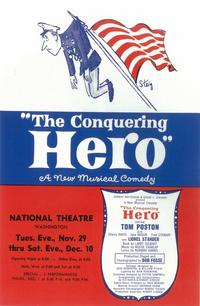 Conquering Hero, The (Broadway) - 14 x 22 Poster - Style A