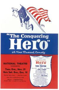 Conquering Hero, The (Broadway) - 11 x 17 Poster - Style A