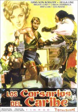 Conqueror of Maracaibo - 11 x 17 Movie Poster - Spanish Style A