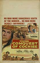 Conquest of Cochise - 27 x 40 Movie Poster - Style B