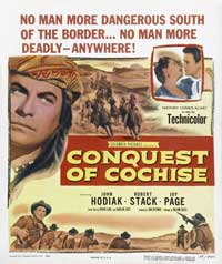 Conquest of Cochise - 27 x 40 Movie Poster - Style A