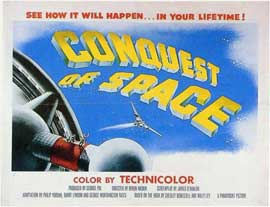 Conquest of Space - 11 x 14 Movie Poster - Style A