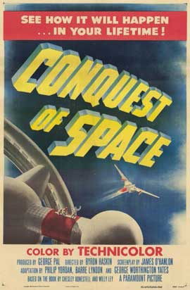 Conquest of Space - 11 x 17 Movie Poster - Style A