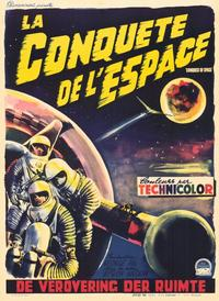 Conquest of Space - 11 x 17 Movie Poster - Belgian Style A