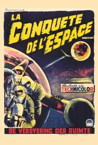 Conquest of Space - 27 x 40 Movie Poster - Belgian Style A