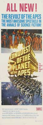 Conquest of the Planet of the Apes - 13 x 30 Movie Poster - Australian Style A