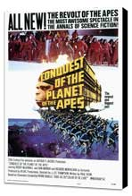 Conquest of the Planet of the Apes - 27 x 40 Movie Poster - Style A - Museum Wrapped Canvas