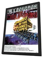 Conquest of the Planet of the Apes - 11 x 17 Movie Poster - Style A - in Deluxe Wood Frame