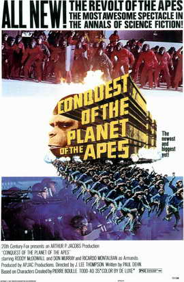 Conquest of the Planet of the Apes - 11 x 17 Movie Poster - Style A