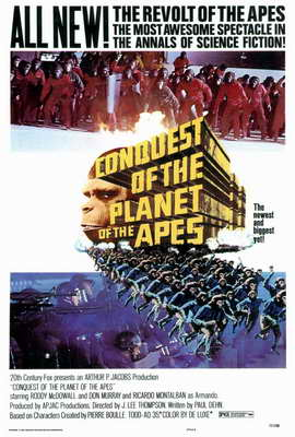Conquest of the Planet of the Apes - 27 x 40 Movie Poster - Style A
