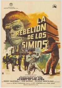 Conquest of the Planet of the Apes - 43 x 62 Poster - Foreign - Bus Shelter Style A
